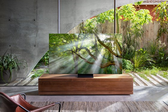 TV QLED 8K Samsung tận dụng các tính năng được hỗ trợ bởi AI  ảnh 1