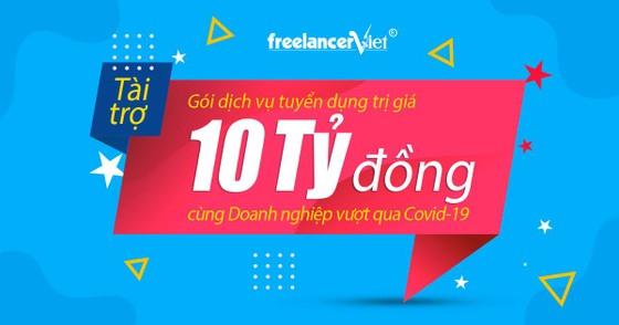 FreelancerViet tài trợ chi phí tuyển dụng trị giá 10 Tỷ đồng cho 1.000 Doanh nghiệp ảnh 1