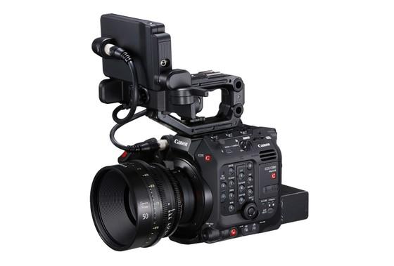 Canon EOS C300 Mark III: Trang bị cảm biến Dual Gain Output, quay phim4K/120p ảnh 2
