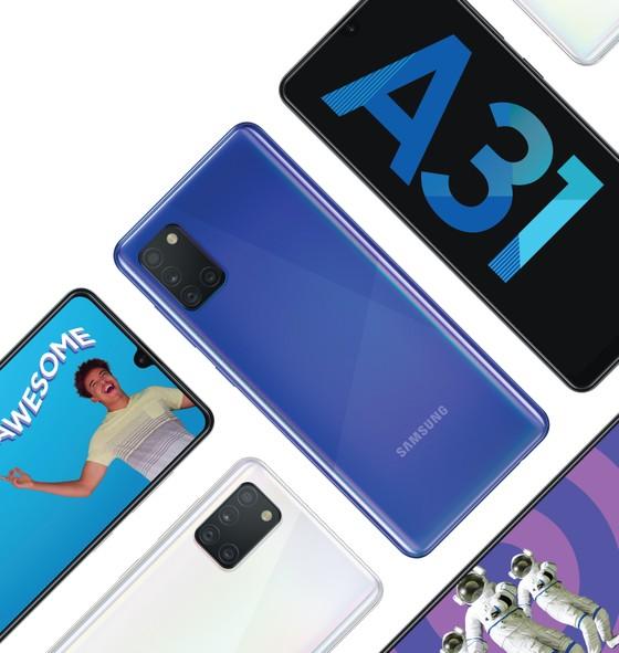 Samsung Galaxy A31 với camera chụp macro  ảnh 2