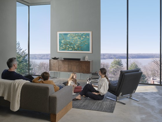 Samsung: The Frame,The Serif, The Sero bộ ba sản phẩm TV 2020 ảnh 1