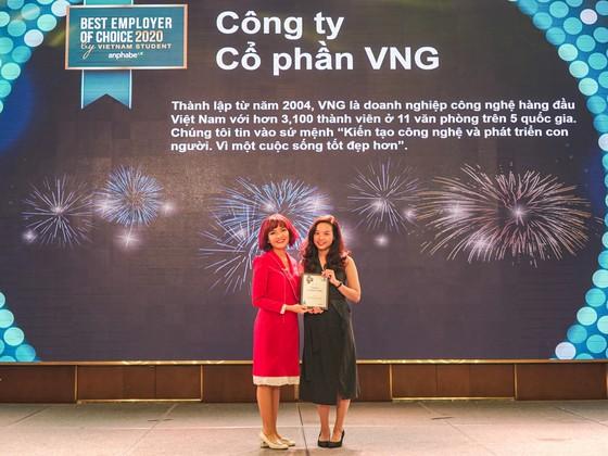 VNG đạt danh hiệu Top 2 Thương hiệu nhà tuyển dụng hấp dẫn  ảnh 1
