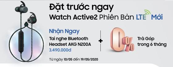 Watch Active2 phiên bản LTE  tích hợp eSIM, hoạt động độc lập ảnh 3
