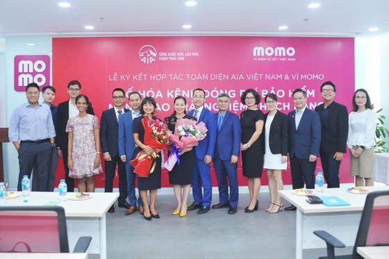 Ví MoMo và AIA hợp tác toàn diện và triển khai kênh thanh toán chiến lược  ảnh 1