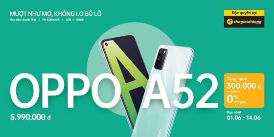 OPPO A52 bán độc quyền trên Thế Giới Di Động ảnh 3