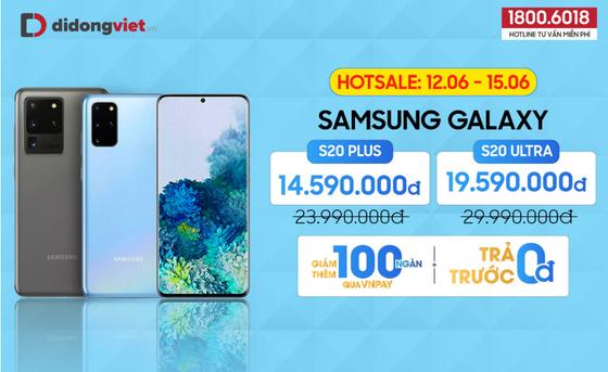 Di Động Việt: Galaxy S20 Plus, S20 Ultra đồng loạt giảm đến 10,4 triệu đồng  ảnh 2
