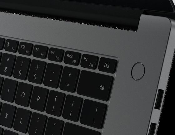 HUAWEI MateBook D15: Màn hình tràn viền, phím nguồn tích hợp dấu vân tay ảnh 4