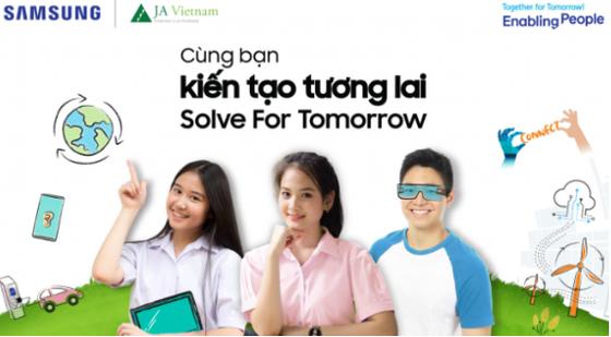 Samsung tổ chức cuộc thi Solve For Tomorrow  ảnh 1