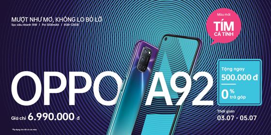 OPPO A92 thêm phiên bản Tím Cá Tính ảnh 3