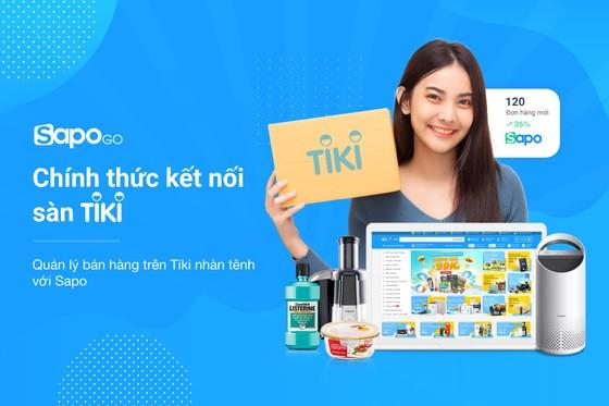 Sapo Go chính thức mở thêm cổng kết nối với sàn thương mại điện tử Tiki  ảnh 1