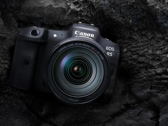 Canon ra mắt máy ảnh EOS R5, R6 và loạt ống kính mới  ảnh 1