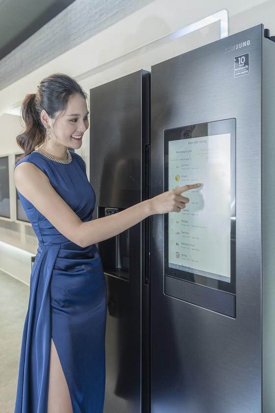 Lần đầu tiên Samsung ra mắt tủ lạnh thông minh Family Hub tại thị trường Việt Nam ảnh 1