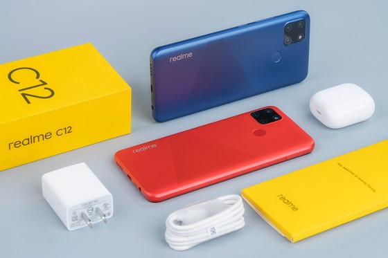 Realme C12: Pin 6.000 mAh, có mức giá 3,5 triệu đồng tại Việt Nam   ảnh 3