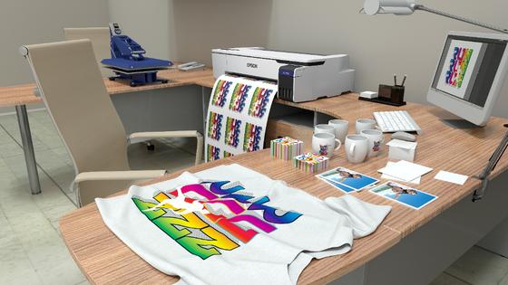 Epson ra mắt máy in vải chuyển nhiệt kỹ thuật số để bàn đầu tiên ảnh 1