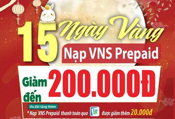 Vinasun Taxi: Nạp VNS Prepaid giảm đến 200.000 đồng  ảnh 1