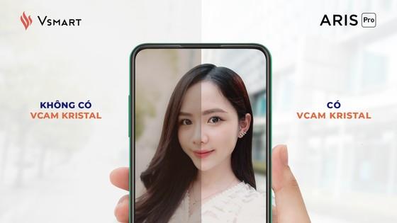 Vsmart Aris Pro: Smartphone trang bị camera ẩn dưới màn hình  ảnh 1