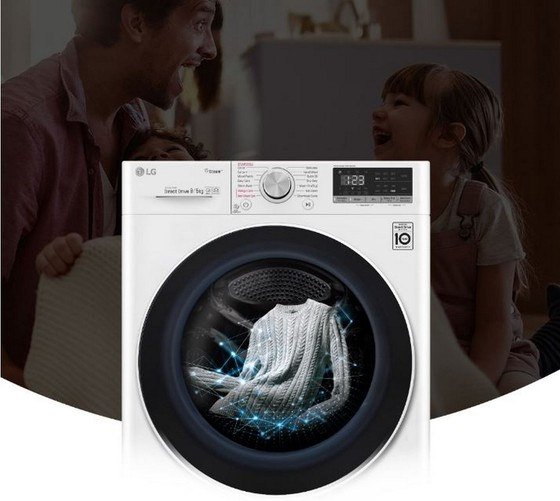 Máy giặt LG AI có mức giá từ 14,5 triệu đồng  ảnh 1