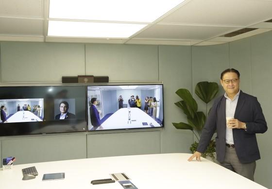 Adamos ra mắt phòng họp trực tuyến Mitbox ảnh 1