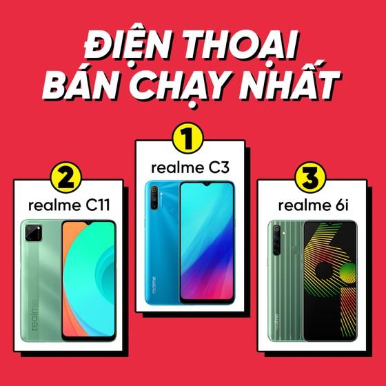 """Các dòng smartphone và phụ kiện realme """"cháy DEAL"""" trong ngày mua sắm 11-11 ảnh 3"""