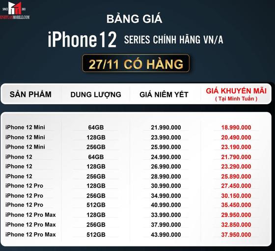 Thị trường iPhone 12 chính hãng nhộn nhịp trước giờ G   ảnh 1