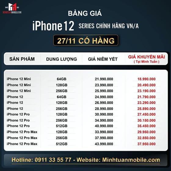 Mua iPhone 12 chính hãng ở đâu rẻ nhất? ảnh 2
