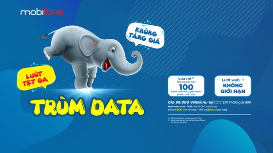 MobiFone ra mắt gói cước Trùm Data - lướt tẹt ga, không tăng giá ảnh 1