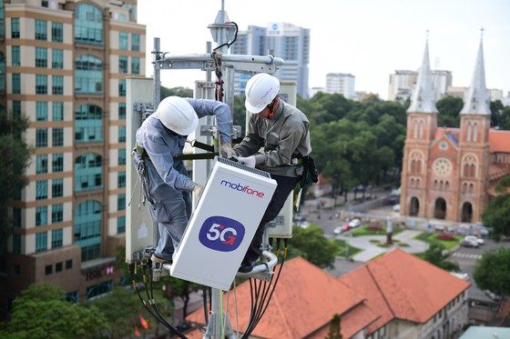 MobiFone bắt đầu thử nghiệm tốc độ dịch vụ 5G tại TPHCM ảnh 2
