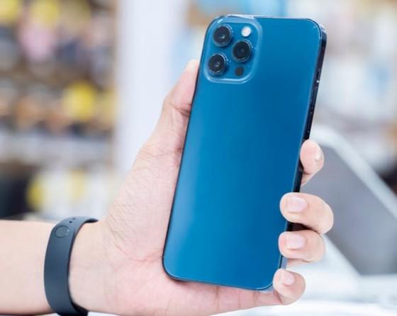 Phone 12 Pro Max VN/A hai phiên bản màu Pacific Blue và Graphite đã trở lại ảnh 2