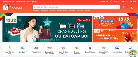 Shopee khởi động sự kiện 12-12 sale sinh Nhật  ảnh 1