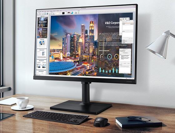 Bộ đôi màn hình máy tính T35F và T45F, lựa chọn tối ưu của doanh nghiệp ảnh 1