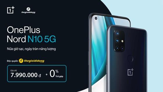 OnePlus ra mắt OnePlus Nord N10 đón chờ làn sóng 5G tại Việt Nam ảnh 3