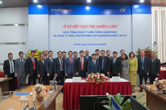 MobiFone và SCTV ký kết Thỏa thuận hợp tác chiến lược toàn diện ảnh 1