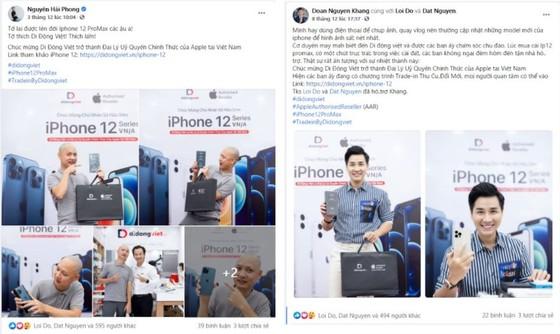 Vì sao hơn 200 nghệ sĩ chọn Di Động Việt để sắm iPhone 12? ảnh 3