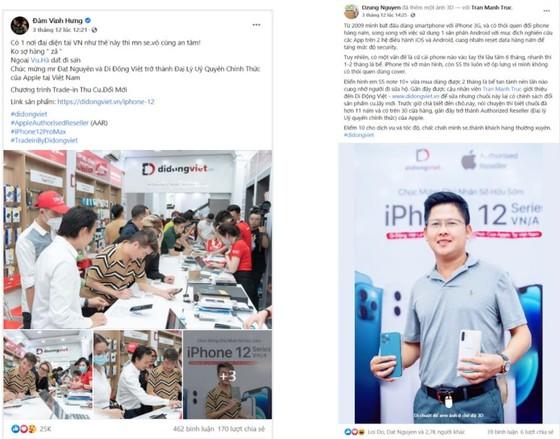 Vì sao hơn 200 nghệ sĩ chọn Di Động Việt để sắm iPhone 12? ảnh 5