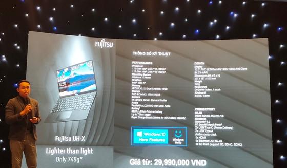 Fujitsu UH-X laptop 'siêu mỏng' có mức giá từ 29,99 triệu đồng ảnh 4