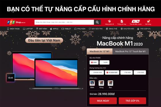 FPT Shop bất ngờ giao MacBook M1 chính hãng cho khách hàng ảnh 4