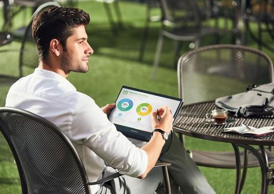 ASUS ra mắt bộ đôi laptop xoay gập cao cấp ZenBook Flip Series  ảnh 5