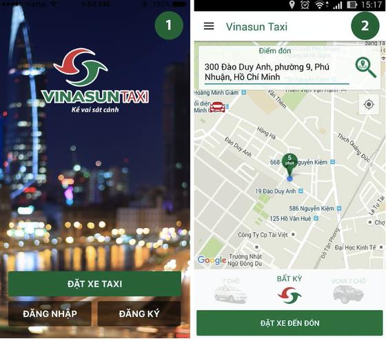 Trải nghiệm Vinasun app: Nhiều tiện lợi! ảnh 3