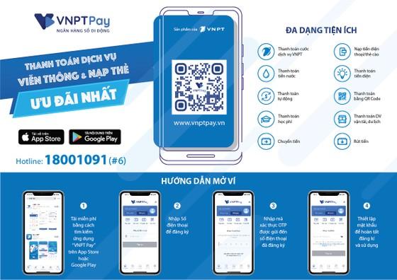 VNPT Pay miễn phí các giao dịch thanh toán trên Cổng Dịch vụ công Quốc gia  ảnh 2