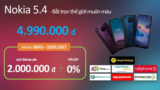 Nokia 5.4 có mức giá 4,99 triệu đồng tại thị trường Việt Nam  ảnh 5