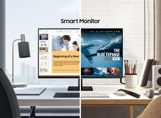 Samsung M7 và M5 dòng màn hình thông minh không cần máy tính  ảnh 1