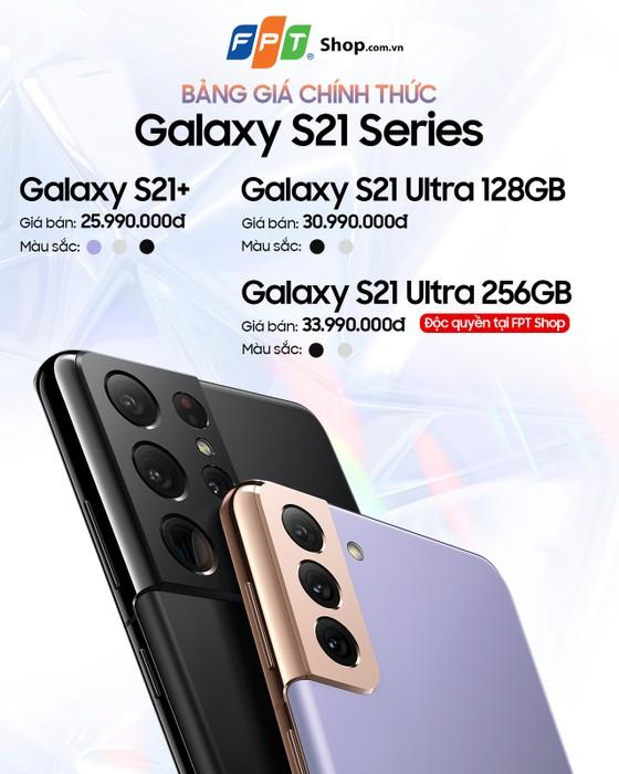 Đặt trước Galaxy S21 Series nhận quà đến 8,5 triệu đồng tại FPT Shop ảnh 1