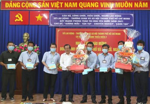 Đoàn lãnh đạo TPHCM thăm, chúc tết các cơ sở xã hội ảnh 3