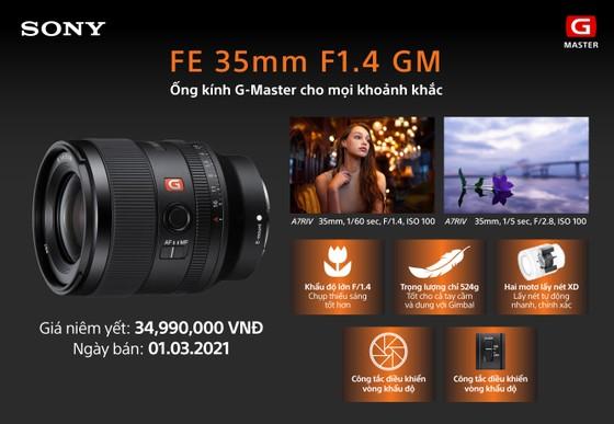 Sony ra mắt ống kính FE 35mm F1.4 GM mới ảnh 5