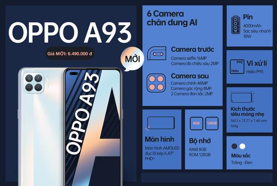 Giá mới cho OPPO A93 với nhiều ưu đãi ảnh 2