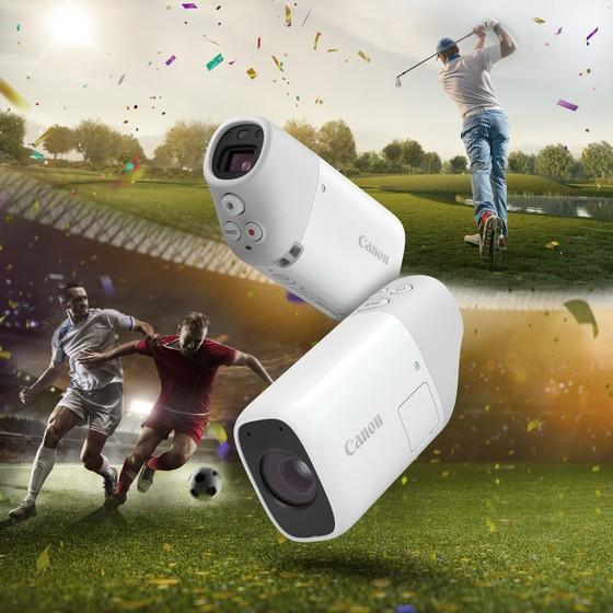 PowerShot ZOOM, chiếc máy ảnh kiêm ống nhòm kĩ thuật số bỏ túi   ảnh 1