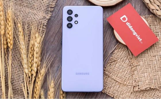 Samsung Galaxy A32 giá chỉ từ 5,9 triệu đồng tại Di Động Việt  ảnh 1