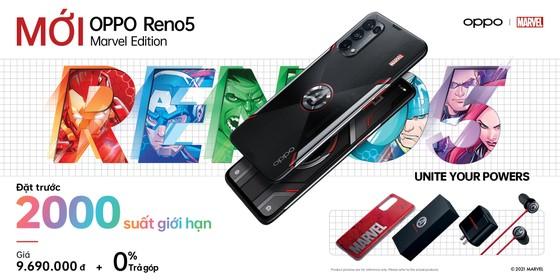 OPPO Reno5 Marvel Edition phiên bản giới hạn, chỉ 2.000 máy được bán tại Việt Nam   ảnh 4