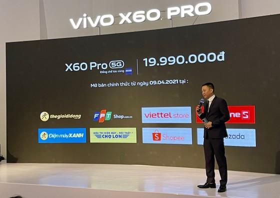 Vivo X60 Pro, flagship cao cấp kết nối 5G, camera ZEISS   ảnh 2