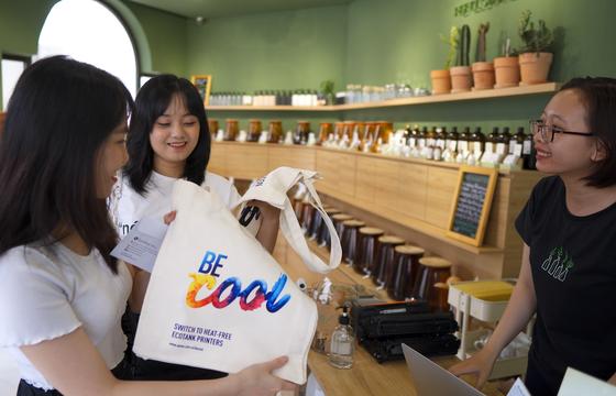 Epson Việt Nam thu hộp mực cũ, góp quỹ trồng cây xanh ảnh 1